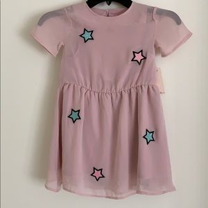 Sovereign Code Los Angeles Pink Dress NWT Girls